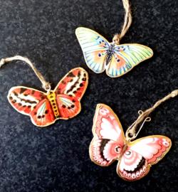 Set hangers Vlinders - Cadeau voor liefhebber van vlinders
