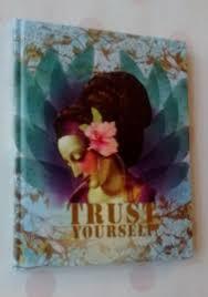 Opschrijfboekje Trust Papaya Art