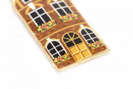 Cadeautje voor verhuizing - Set hangers huisjes -