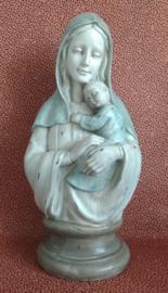 Borstbeeld Maria met kind-Clayre en Eef 6 PR1061