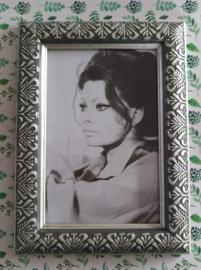 Vintage lijstje Sophia Loren