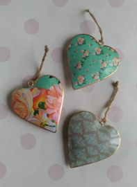Indian hanging hearts Soul-10 cm