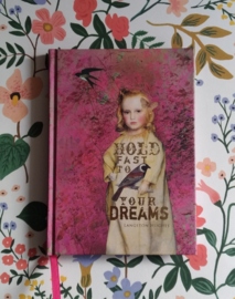 Klein roze notitieboekje Dreams - Papaya Art