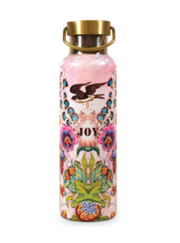 Drinkfles Papaya Art Floral Joy