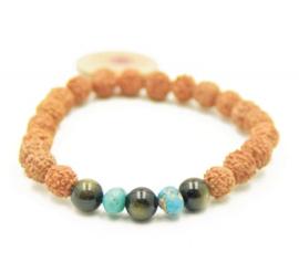 Healing mala bracelet