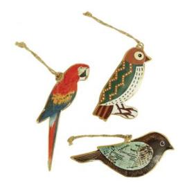 Cadeau voor vogelliefhebber - Hangers met vogeltjes -