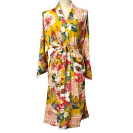 Kimono okergeel - Imbarro
