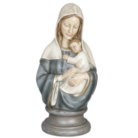 borstbeeld Maria en kind - Clayre en Eef
