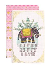 Journal Set-Happy Elephant