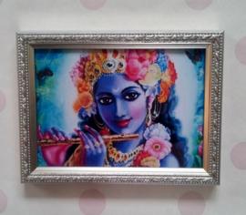 Vintage lijstje - Krishna