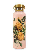 Drinkfles Papaya Art yellow roses