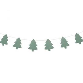 Slinger met kerstboompjes - Imbarro