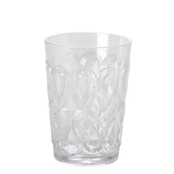 Transparante drinkbeker Rice dk