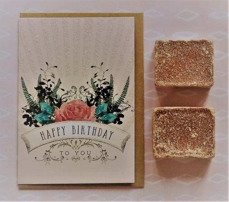 Amberblokjes & HBD-card