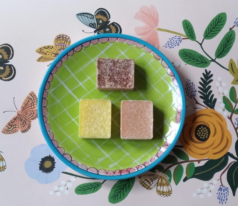 Drie Marokkaanse geurblokjes
