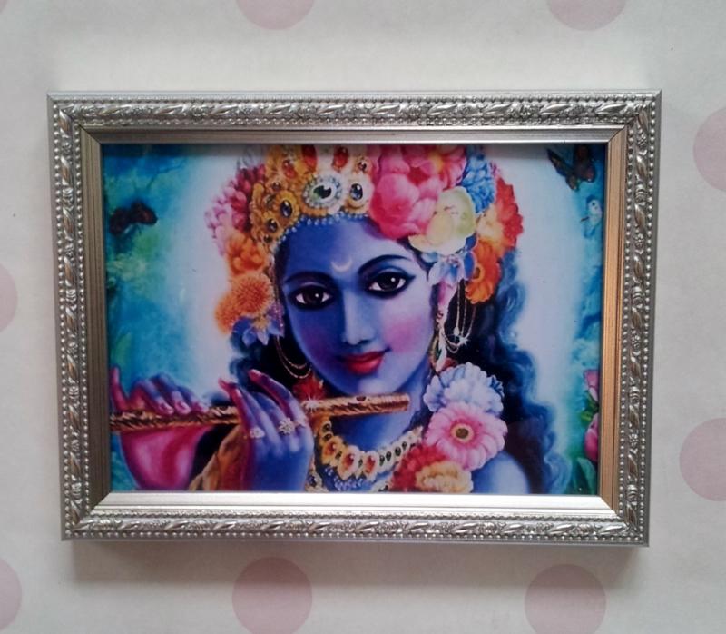 Lijstje met Krishna