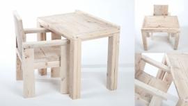 steigerhouten  tafeltje