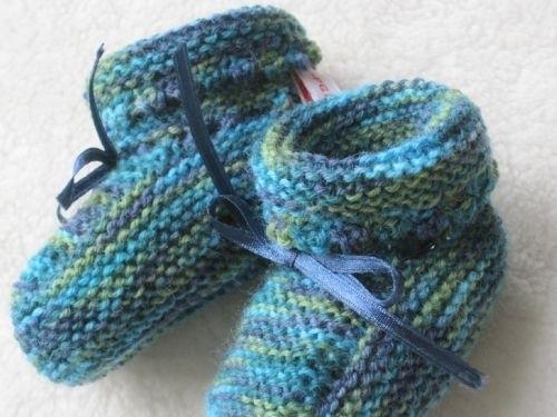 gebreide gemelleerde sokjes