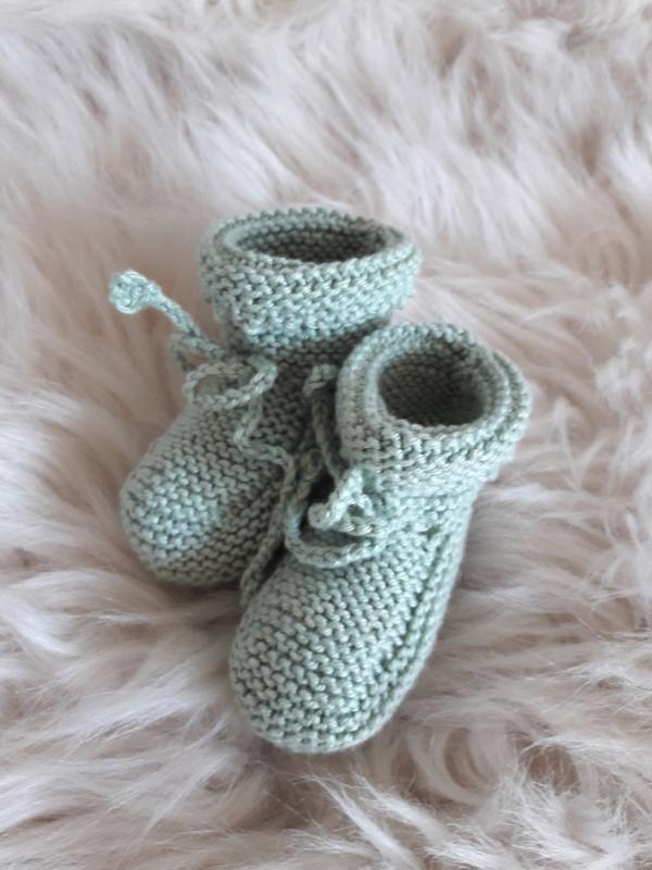 gebreide babysokjes