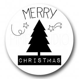 Sluitzegel Merry-Christmas