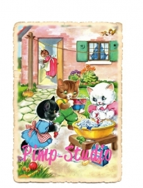 Retro Kittens