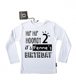 Verjaardag shirt