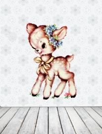 Muursticker Little Fawn Small