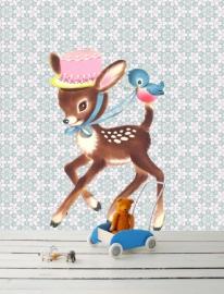 Muursticker Baby Bambi Small