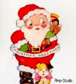 Strijkapplicatie Kerstmis
