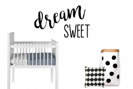 Dream - Sweet - Muursticker