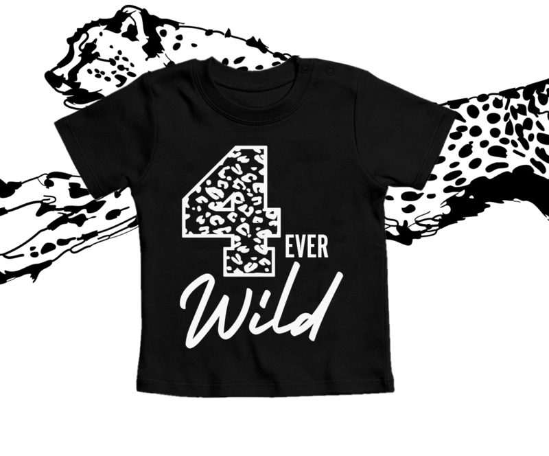 Strijkapplicatie 4 ever Wild