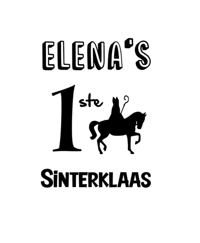 Naam 1ste Sinterklaas*