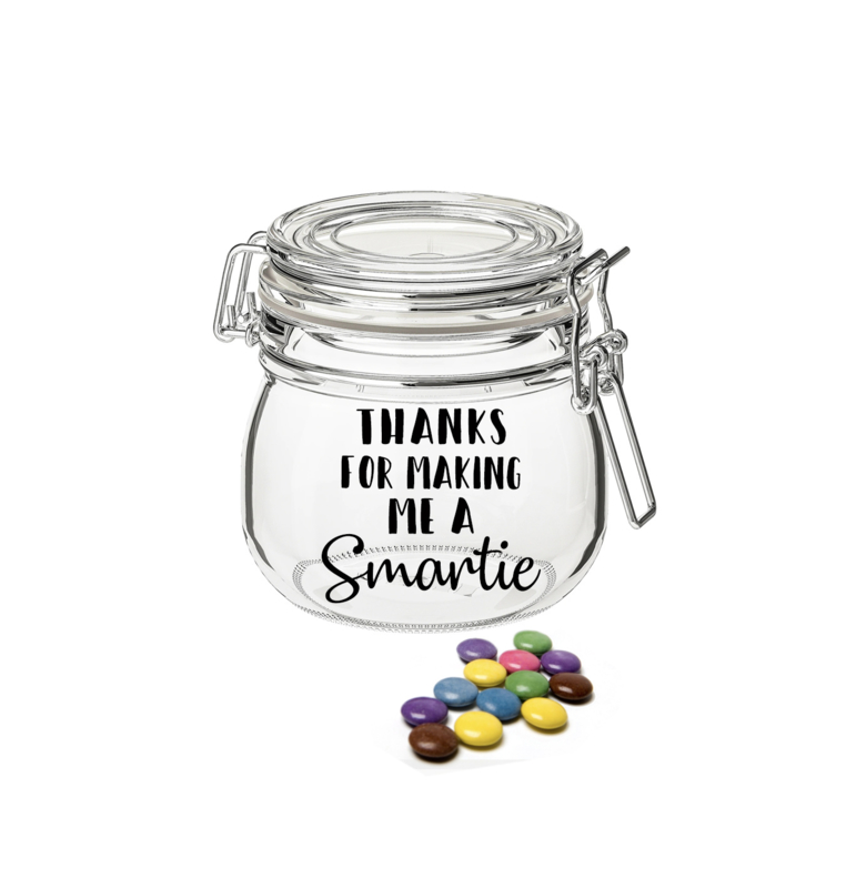Thanks for making me a smartie