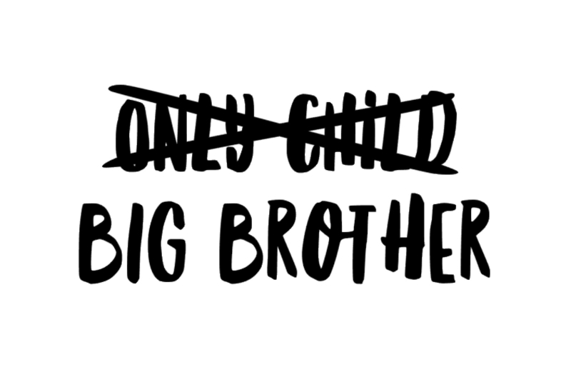 only child -big brother
