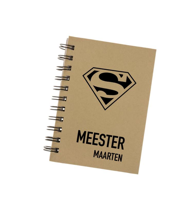 Bedankt Super meester