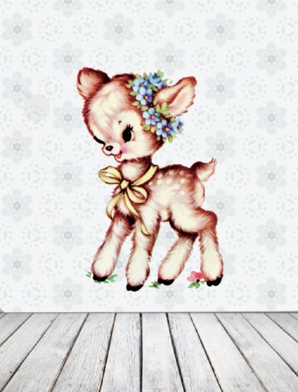 Muursticker Little Fawn Small
