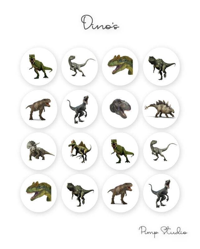 Sluitzegel - Dino's