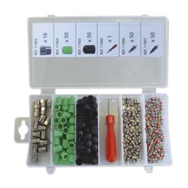 JBM Tools | set van kappen en kernen voor banden