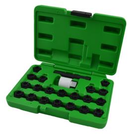 JBM Tools | Doppenset voor veiligheids shroeven | Volkswagen