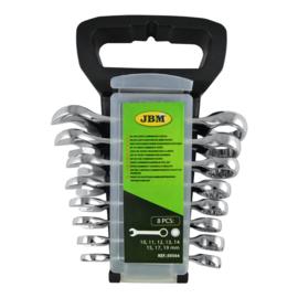 JBM Tools | SET VAN 8 KORTE COMBINATIESLEUTELS