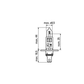 JBM Tools | H1 obn lamp 12v 55w