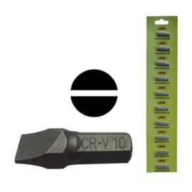 JBM Tools | M8 INBUSSLEUTEL MET SL-BIT 10MM - VERCHROOMD