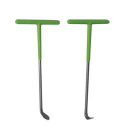 JBM Tools | Set van 2 rubberen haken voor uitlaatpijp