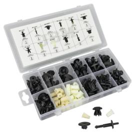 JBM Tools | Assortimentsdood sets van plastic clips voor Toyota / Lexus (89 stuks)