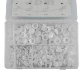 JBM Tools 180-Delige set van kunststofkapjes