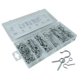 JBM Tools | Assortiment van oogbouten schroefoog 171-Delig
