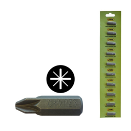 JBM Tools | M8 INBUSSLEUTEL MET DUBBELE PHILLIPS-BIT (PZ) #2 - VERCHROOMD