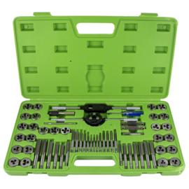 JBM Tools | Snij- en draadtapset | 60-Delig