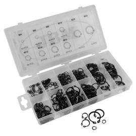 JBM Tools | Circlips assortiment (extern) 300-delig | Zekering ringen |