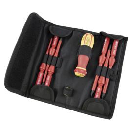 JBM Tools | Schroevendraaier set met elektri-sche isolatie tot 1000 v